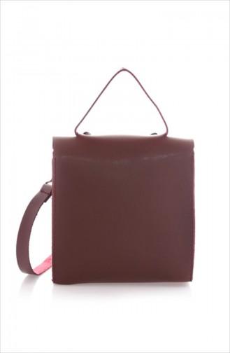 Claret Red Shoulder Bags 15Z-09