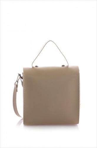 حقيبة كتف بني مائل للرمادي 15Z-11