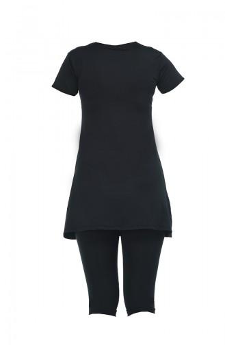 Black Swimsuit Hijab 1920-02