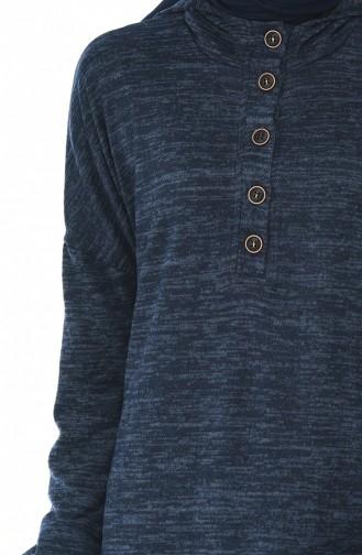 تونيك أزرق كحلي 9073-06