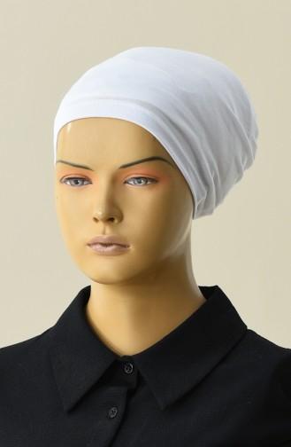 Bonnet Lycra 7000-02 Blanc 7000-02