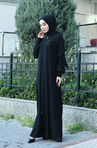 Black Abaya 8014-02