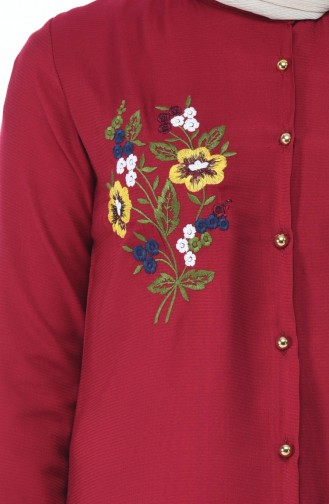قميص ارجواني داكن 1014-05