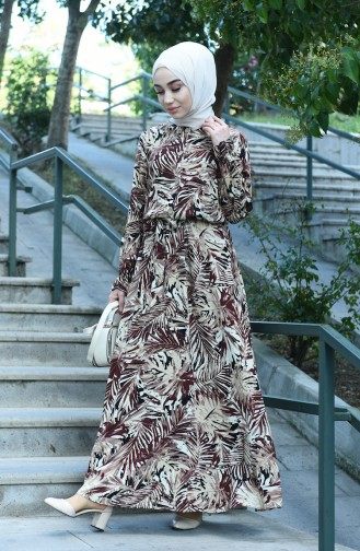 Brown Dress 8003-02