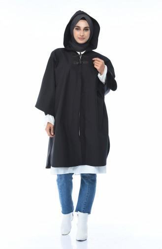 معطف أكمام خفاش انتراسيت 5003B-02