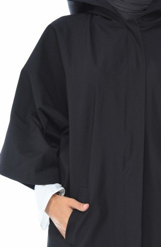 Anthracite Poncho 5004A-03