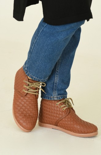 Tobacco Brown Bot-bootie 008