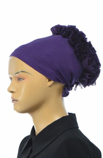 Bonnet a Froufrous 7001-17 Pourpre 7001-17