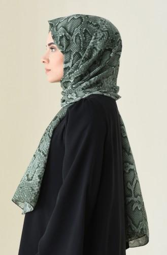 Alisya Châle a Motifs 13111-03 Vert 13111-03