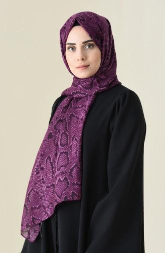 Alisya Châle a Motifs 13111-05 Pourpre 13111-05
