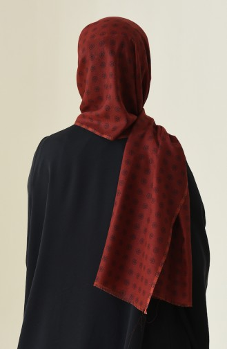Claret red Shawl 340-106