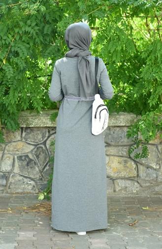 Anthrazit Hijap Kleider 2170-03