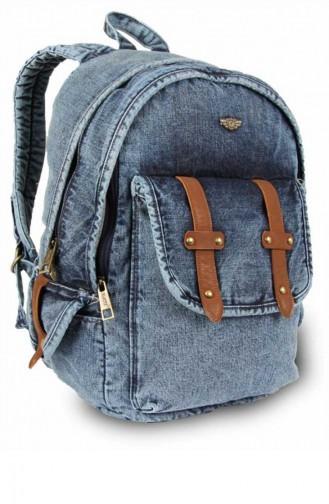 Renkli Back Pack 5108 Kar Denim