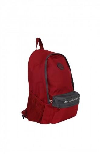 حقيبة ظهر أحمر كلاريت 1247589005321
