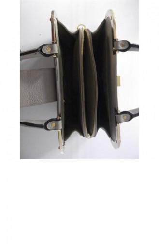 حقيبة كتف بني مائل للرمادي 1545150042003
