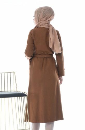 معطف طويل نحاس 5495-02