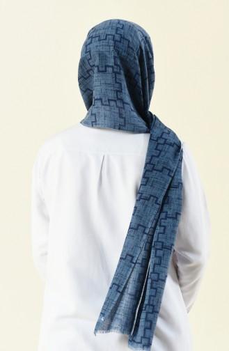 شال أزرق 308-102