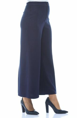 Pantalon Large a Motifs 4243-02 Pourpre 4243-02