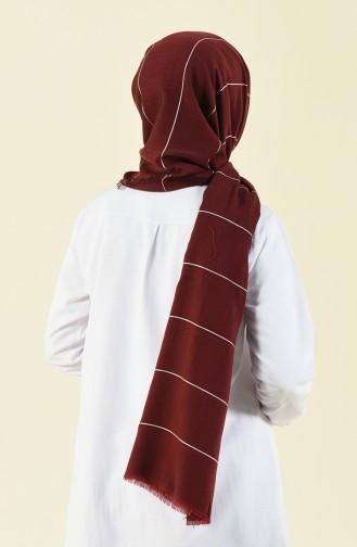 Claret red Sjaal 901530-01
