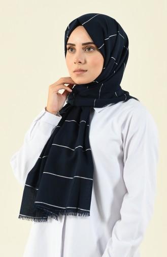 Navy Blue Sjaal 901530-13
