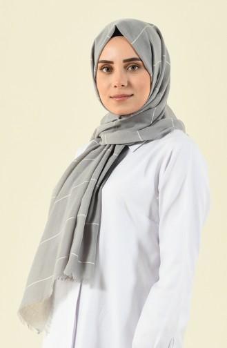 شال رمادي فاتح 901530-21