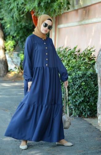 Navy Blue Dress 8005-02
