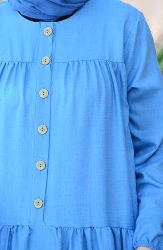 Blau Hijap Kleider 8005-06