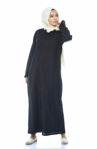 Robe Coton 8000-03 Noir 8000-03