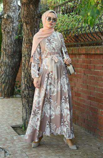فستان باودر 8002-03