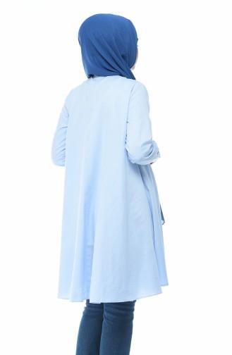 Tunique Oxford 5828-02 Bleu Bébé 5828-02