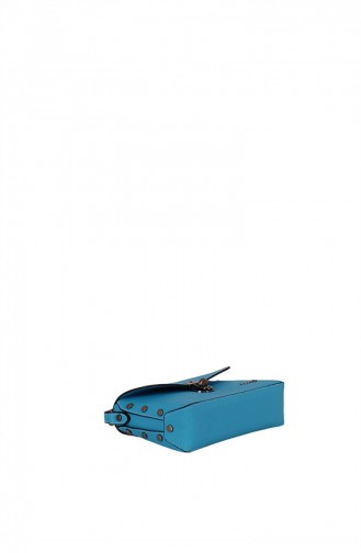 Blau Schultertasche 1247589006380