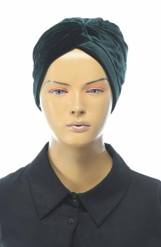 القبعات أخضر زمردي 0038-07