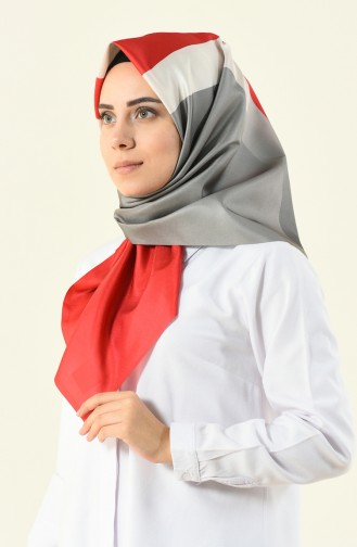 Rot Kopftuch 95095-10