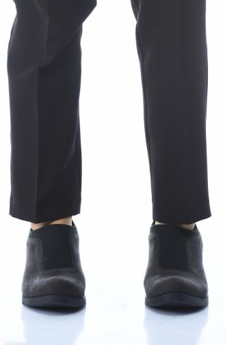 Chaussures Pour Femme 0066K-01 Fumé Daim 0066K-01