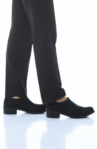 Black Casual Shoes 0066K-03