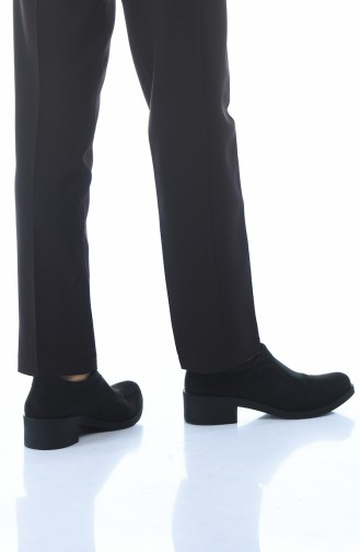 Bayan Ayakkabı 0066K-03 Siyah Süet