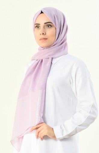 Lilac, Silver Shimmer Shawl 13004-34