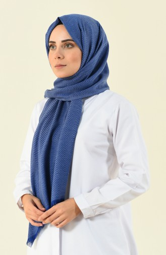 Saks-Blau Schal 13109-11