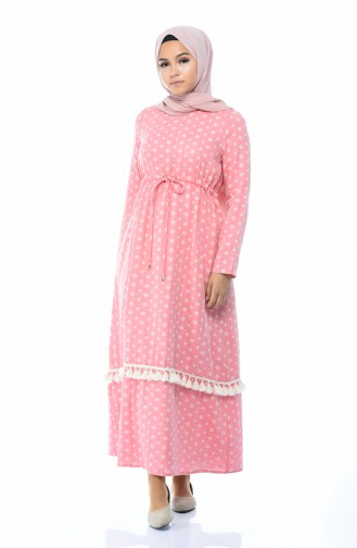 Pink Dress 8009-02