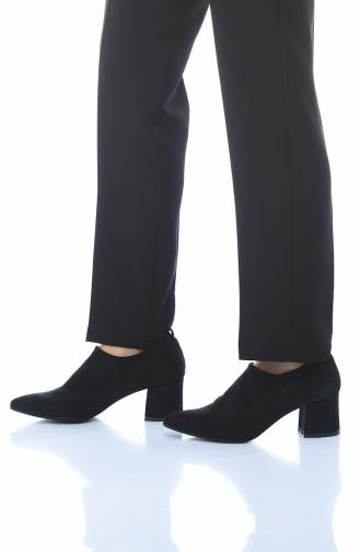 أحذية الكعب العالي أسود 0905K-01