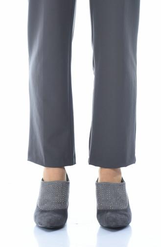 أحذية الكعب العالي رمادي 0906K-02