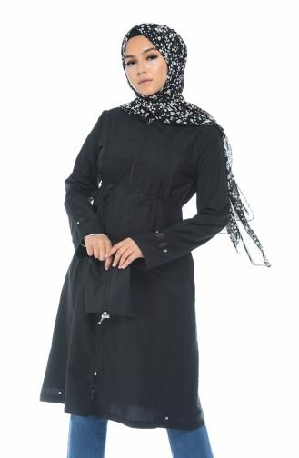 Black Raincoat 6662-01