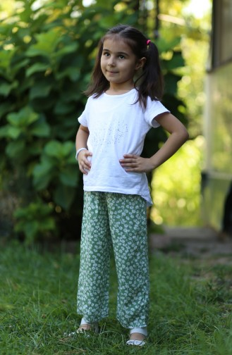 Green Baby and Kids Pants 25079-04