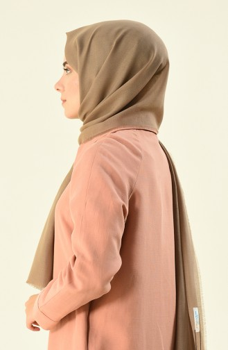 Alisya Cotton Shawl Brown 13123-10