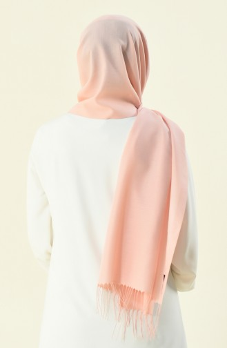 Plain Tassel Seasonal Shawl Pink 901488-36