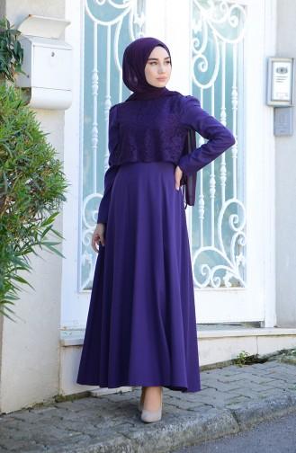 فستان أرجواني 9032-02