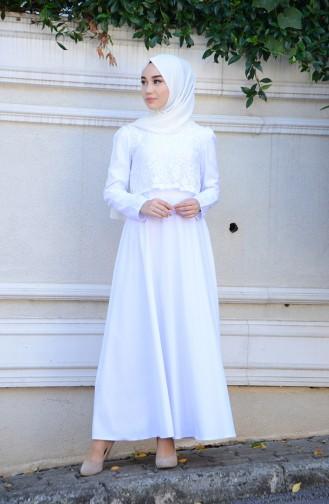 White Dress 9032-05