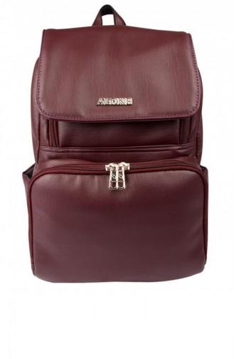 Claret red Baby Care Bag 9352 Bordo