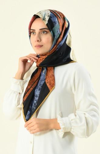 Karaca Echarpe Rayon a Motifs 90592-03 Noir Gold 90592-03