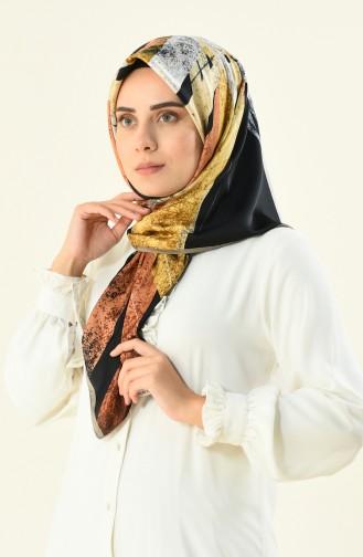 Karaca Echarpe Rayon a Motifs 90592-11 Vison Gold 90592-11